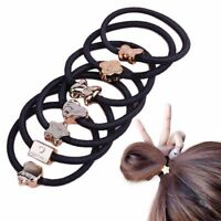 40Pcs Women Girls Hair Band Ties Rope Ring Elastic Hairband Ponytail Holder 2018