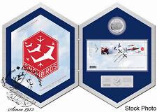 Canada 2006 $5 Snowbirds Silver Hologram Coin & Stamp Set