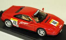 Bang 1/43 Scale - 8007 Ferrari 348 Tb Challenge 90 Red #48 Diecast Model Car
