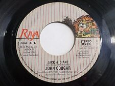John Cougar Jack & Diane / Can You Take It 45 1982 Riva Vinyl Record