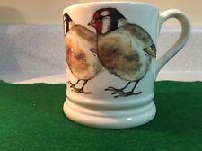 "Bridgewater Goldfinch Emma Bridgewater  Mug  3 7/5"" Tall"