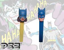 1978 Batgirl and Batman PEZ Candy Dispenser Soft Head batgirl No Feet Vintage