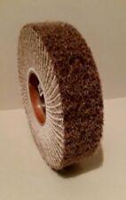 Schleifvlies, Schleifbockscheibe, Schleif-Vlies-Rad 200x50x17 mm. Korn 80