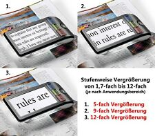 "Eschenbach Smart Lux Magnifier Digital 5"" Color HD Portable Video - Easy to Use!"