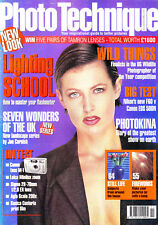 Photo Technique magazine with  Nikon F60 v Canon EOS 500N   November  1998