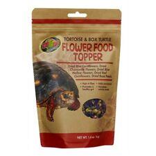 OFFER:  NEW: ZOO MED TORTOISE AND BOX TURTLE FLOWER BLEND FOOD TOPPER - 40G