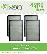 4 Replacements Kenmore 86889 Ef-1 Vacuum Filters # 86889 & Mc-V199H