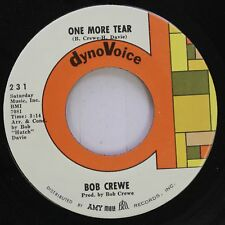 Rock 45 Bob Crewe - One More Tear / After The Ball On Dynovoice