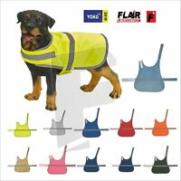 Dog High Visibility Safety Jacket Vest Walking Coat Hi Vis Viz Winter Yoko YK180