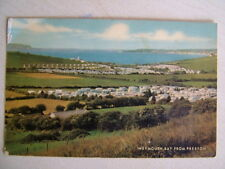 Postcard - WEYMOUTH BAY FROM PRESTON. Used 1975.  Standard size