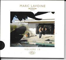 CD ALBUM SLIDEPACK 11 TITRES--MARC LAVOINE--VOUME 10--2009