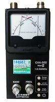 Comet CAA-500 Mark II 1.8-500 MHZ Graphic / Analog Antenna Analyzer For Ham CB