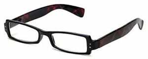 Calabria 763 Designer Spring Hinge Reading Glasses&Matching Case +0.5