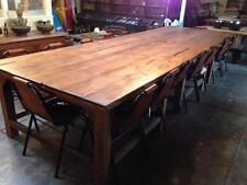 Large 16 seater dining table
