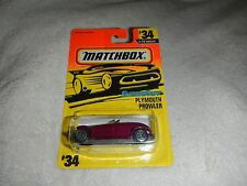 Matchbox SuperFast Plymouth Prowler #34 Purple