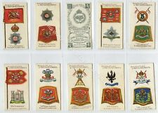 Full Set, Players, Badges & Flags of British Regts, Green 1903 VG+ (Gb1852-165)