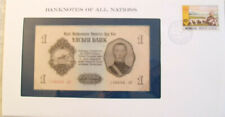 Banknotes of All Nations Mongolia 1955 1 Tugrik P-28 UNC serie AK