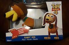 "Disney Pixar Toy Story 4 Slinky Dog 12"" Plush Brand New Free Us Shipping"