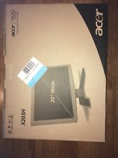 1  Acer X203H bd 20 Wide LCD COLOR Monitor -----BLACK FRAME ----WIDESCREEN