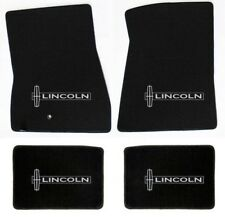 NEW! Black floor mats 1972-1979 Lincoln Town Car Embroidered star Logo on all 4