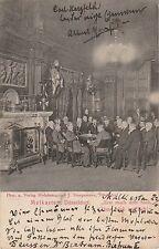 * GERMANY - Dusseldorf - Malkasten 1903 Hofphotograph J.Staegemann