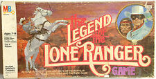 VINTAGE LEGEND OF THE LONE RANGER MB # 4108 BOARD GAME