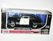 Motor Max - 1948 CHEVY AEROSEDAN FLEETLINE California Highway Patrol Model 1:24