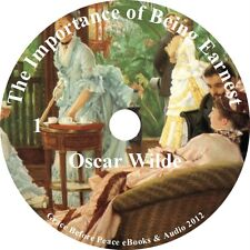 Importance of Being Earnest Oscar Wilde Audiobook English unabridged on 1 MP3 CD