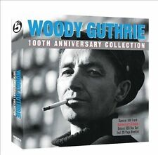 100th Anniversary Collection by Woody Guthrie (CD, Jul-2012, 5 Discs, Not Now Music)