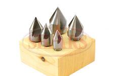 SHARS 60 Degree HSS 3 Flute Countersink Set 5 pcs NEW