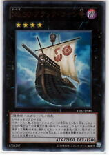 Yu-Gi-Oh Number 50: Blackship of Corn YZ02-JP001 Ultra Rare Foil Mint