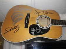 """""""Air Supply""""signed estaben electric acoustic guitar(customized!)...signed twice!"""