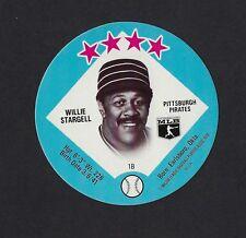 1978 MSA Big T / Tastee Freez Discs WILLIE STARGELL Pittsburgh Pirates MINT