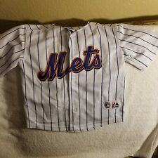 NEW YORK METS JERSEY - YOUTH LARGE - THROWBACK - MAJESTIC