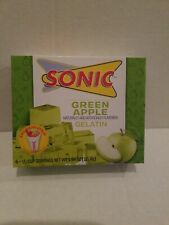 2 Boxes of Sonic Green Apple Gelatin