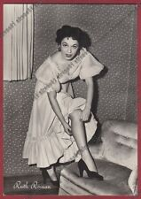 RUTH ROMAN 12 ATTRICE ACTRESS ACTRICE CINEMA MOVIE Cartolina FOTOGR. REAL PHOTO