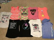 T-shirts-short sleeve-girls-size 10