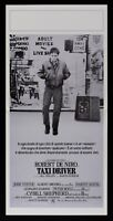 Plakat Taxi Driver Robert De Niro Martin Scorsese Jodie Foster Brooks L100