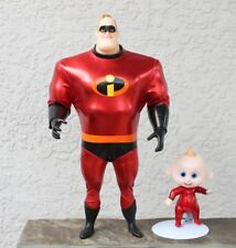 The Incredibles 2 Mr Incredible Baby Jack Figure Articulated Doll Deluxe Costume