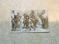 1800's Arbuckle Coffee Adv Trade Cards LAPLAND Vintage Nations Lot
