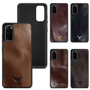 Samsung Galaxy S20 FE Leder Hülle Case Schutzhülle Schale Cover GAZZI VEDETTE