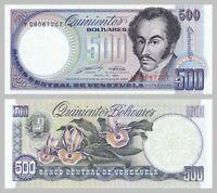 Venezuela 500 Bolivares 1990 p67d unc.