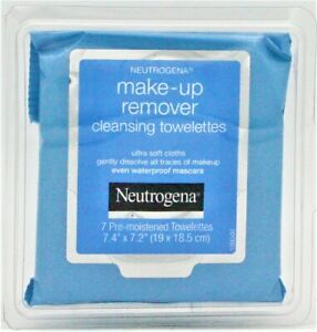 Neutrogena Make-Up Remover Cleansing Towelettes 7 count Travel - 1 Pack