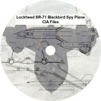 Lockheed SR-71 Blackbird Spy Plane CIA Files