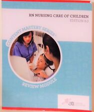 RN NURSING CARE OF CHILDREN - CONTENT MASTERY SERIES - EDITON 8.0 - REVIEW MODUL