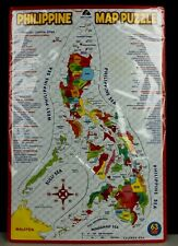 NEW Philippine Map Puzzle Provinces Capitals Geography Educational Home School