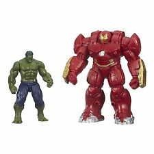 Marvel Avengers The Incredible HULK and Hulk Buster Figures Set 2 Pack Hasbro