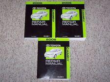 2006 Toyota Camry SE LE XLE V6 Factory Original Shop Service Repair Manual Set