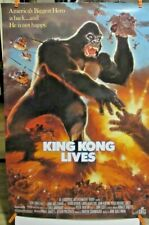 "KING KONG LIVES- POSTER ""KING CAB BY NISSAN"" ROLLED 27 X 40"""