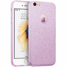 for iPhone 7 & 7+ PLUS - Ultra Thin TPU Rubber Case Cover Shiny Glitter Blings